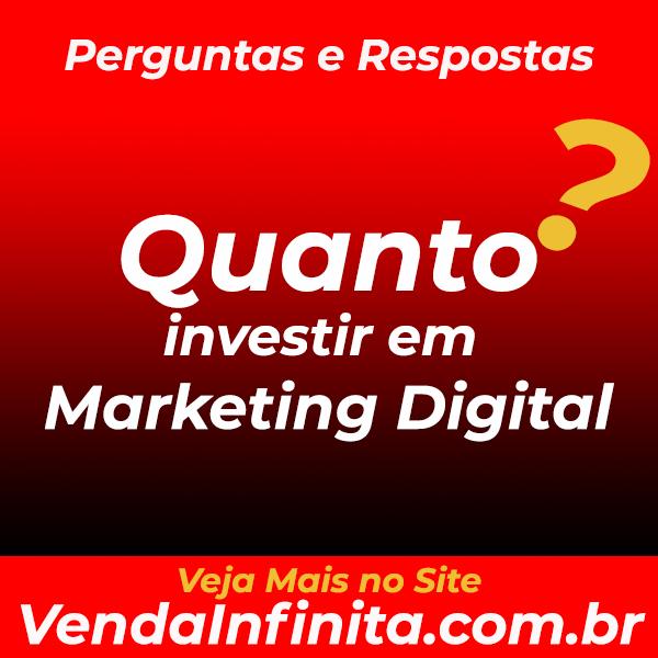 Quanto Investir em Marketing Digital